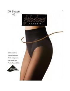 Montse Pedrosa | Panty OK Shape 40 den de Filodoro
