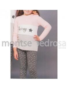 Motse Pedrosa | Pijama Niño 12140 de Miss Chic Mandarina