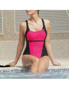 Montse Pedrosa   Bañador de piscina + gorro 46102 de Marie Claire