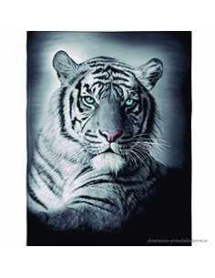 Montse Pedrosa   Toalla Doble Tigre STG01 140 x 180 cm