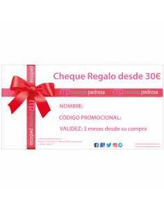 Montse Pedrosa | Cheque Regalo importe a elegir.