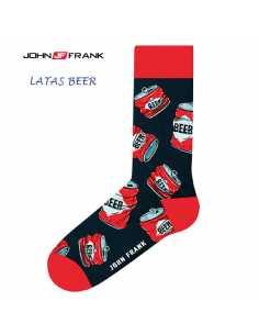 Montse Pedrosa | Calcetin Fantasia Latas Beer de John Frank